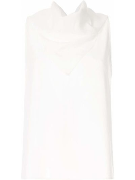 Топ с вырезом - белый Ck Calvin Klein