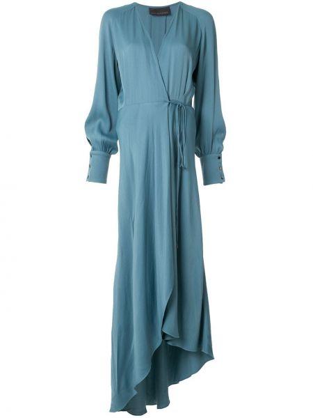 Платье макси с запахом с V-образным вырезом Ginger & Smart