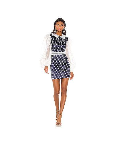 Платье мини на пуговицах через плечо Bronx And Banco