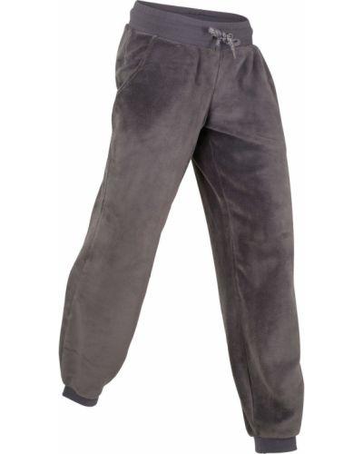 Спортивные брюки стрейч флисовые Bonprix