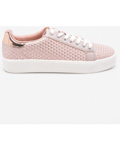 Розовые кеды теннисные Tamaris