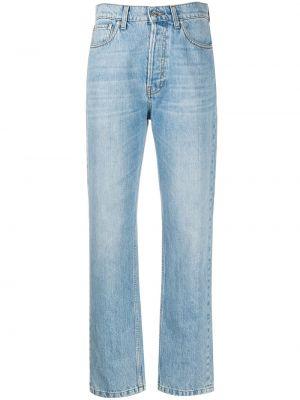 Прямые джинсы классические - синие Nanushka