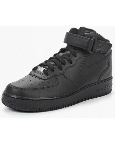 Черные высокие кеды Nike