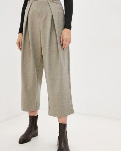 Повседневные бежевые брюки Hey Look
