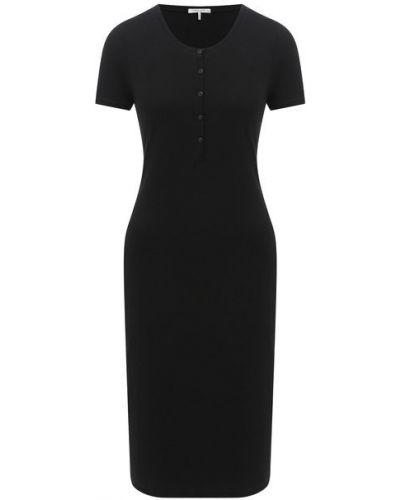 Хлопковое платье - черное Rag&bone