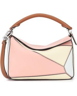Кожаная сумка маленькая на плечо Loewe
