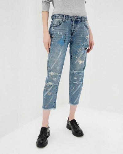 Голубые джинсы бойфренды One Teaspoon