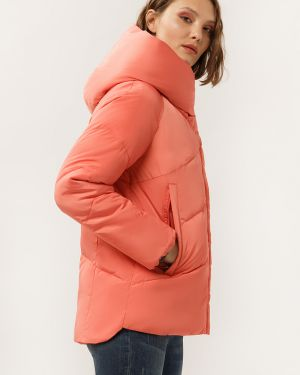 Утепленная куртка розовая с подкладкой Finn Flare