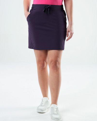 Klasyczna fioletowa spódnica sportowa materiałowa Loap