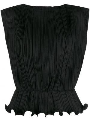 Bluzka bez rękawów z falbankami plik wsadowy Givenchy