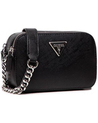 Черная сумка из экокожи Guess