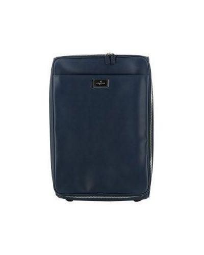 Синий чемодан Corneliani