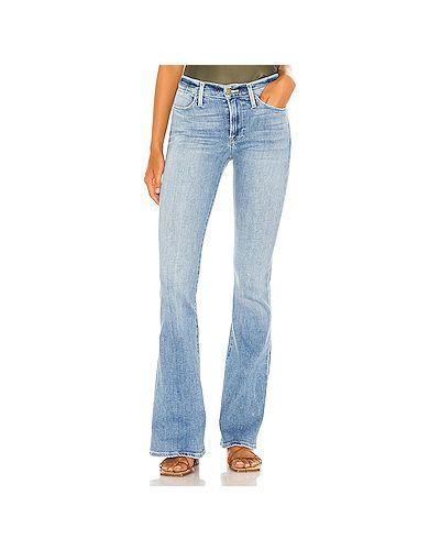 Хлопковые джинсы на молнии Frame