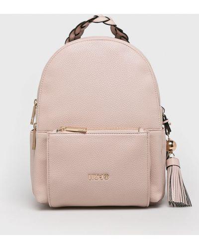 Кожаный рюкзак розовый Liu Jo