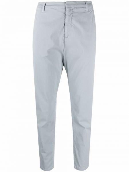 Синие укороченные брюки Nili Lotan
