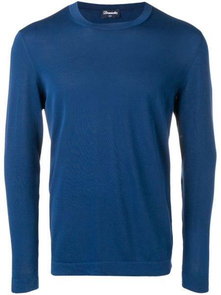 Top - niebieska Drumohr