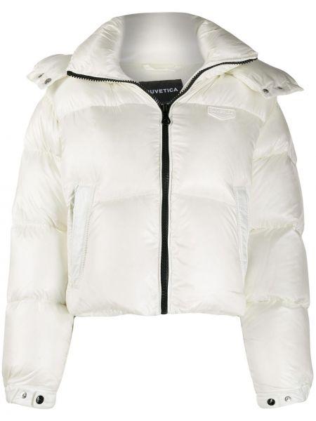 Куртка с капюшоном длинная с карманами Duvetica