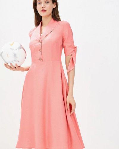Платье коралловый красный Gregory