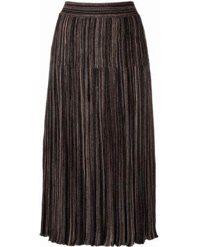 Czarna spódnica wełniana Antonino Valenti