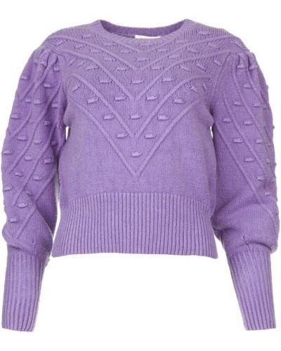 Fioletowy sweter Kocca