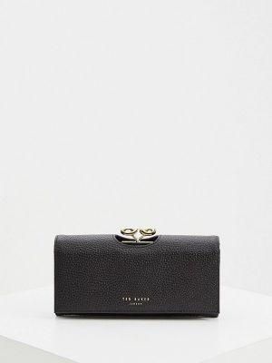 Кожаный кошелек - черный Ted Baker London