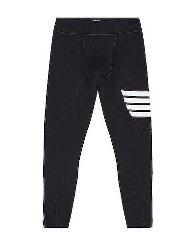 Компрессионные черные колготки эластичные Thom Browne