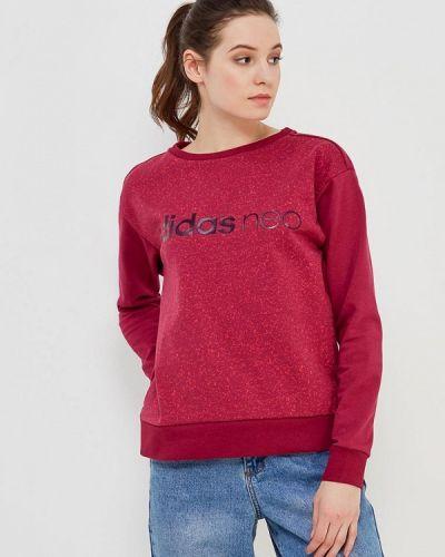 Розовая толстовка Adidas Neo