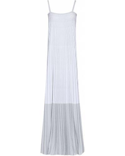 Biała sukienka z wiskozy Antonino Valenti