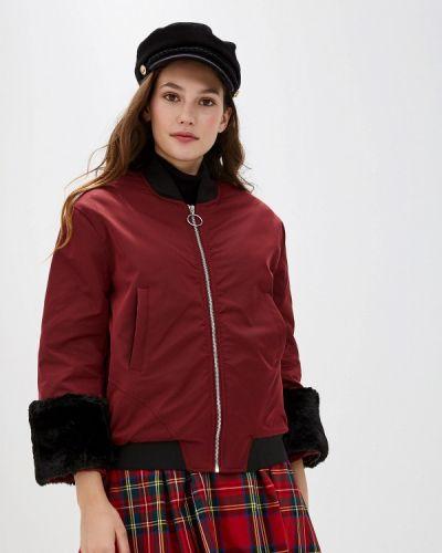 Утепленная куртка осенняя красная You&you