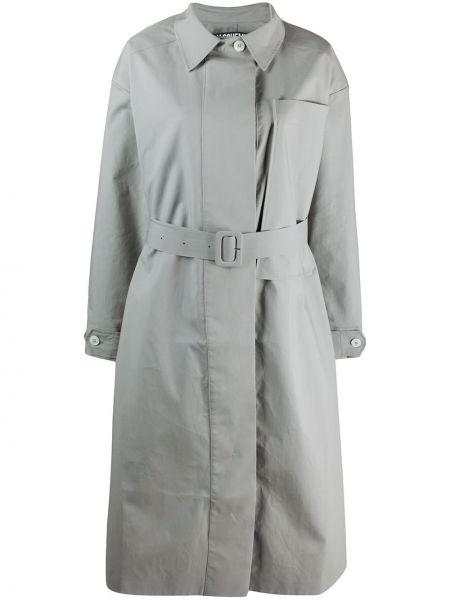 Płaszcz z paskiem bawełniany zapinane na guziki Jacquemus