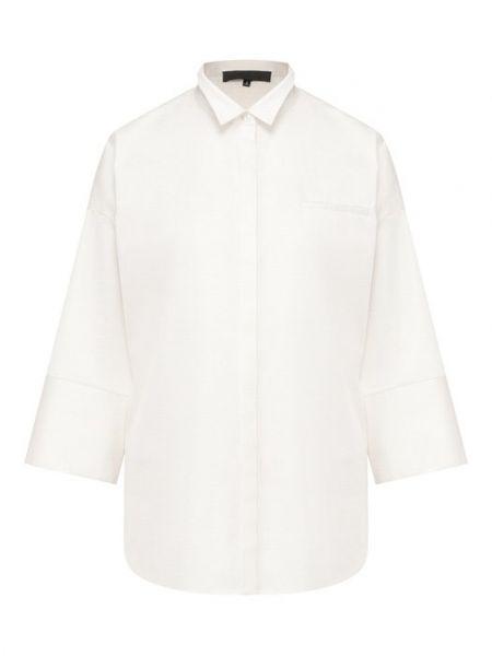 Хлопковая белая рубашка Tegin