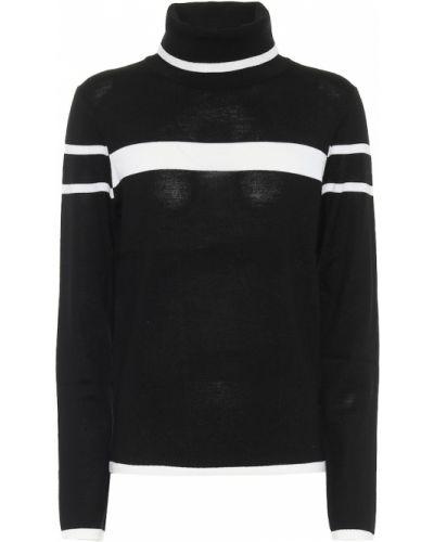 Czarny sweter wełniany Erin Snow