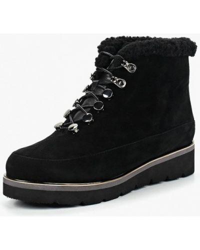 Кожаные ботинки осенние черные Antonio Biaggi