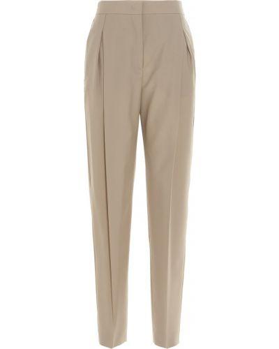 Beżowe spodnie Agnona