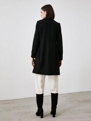 Пальто - черное Trendyol