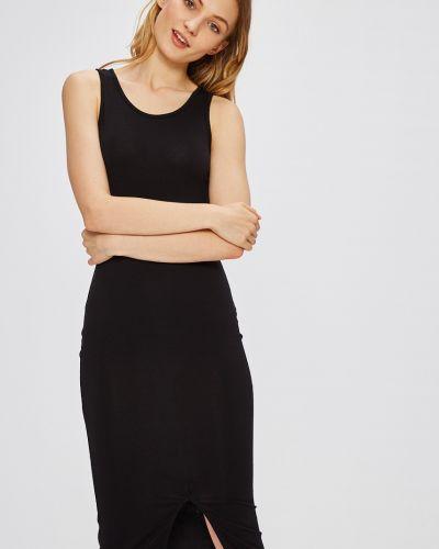 Черное платье миди Miss Poem