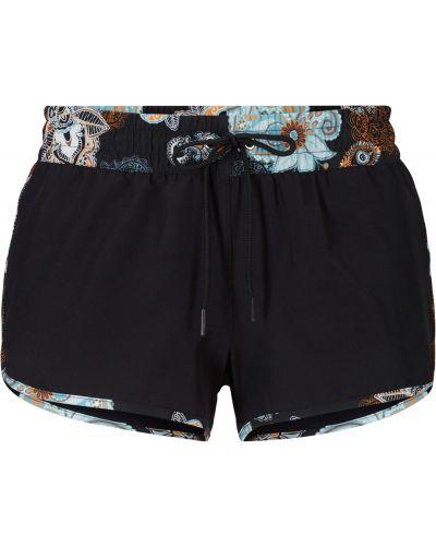 Пляжные шорты - черные Bonprix