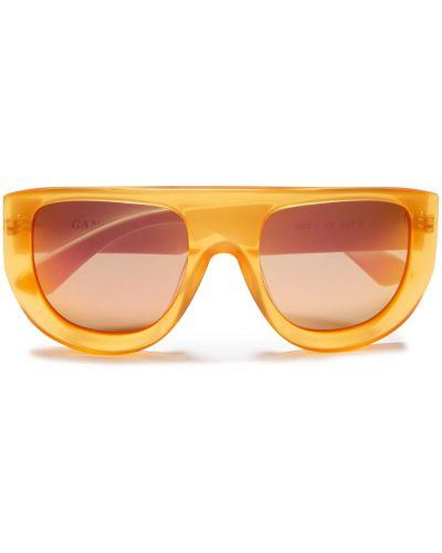 Etui na okulary - pomarańczowe Ganni
