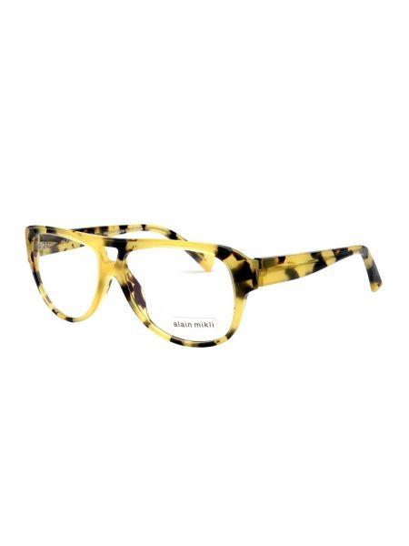 Żółte okulary Alain Mikli