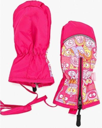 Розовые варежки Tutu