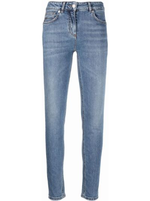 Синие джинсы классические Blumarine