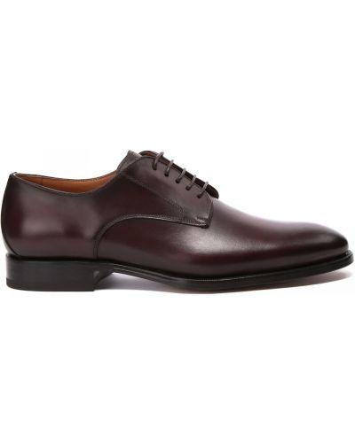 Коричневые итальянские туфли Franceschetti