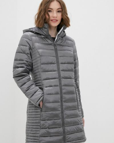 Серая утепленная куртка Zabaione