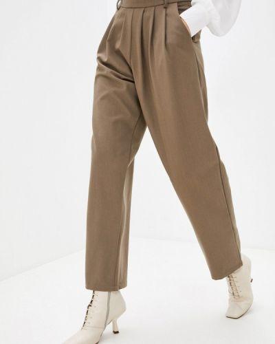 Повседневные коричневые брюки B.style