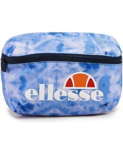 Голубая поясная сумка с логотипом Ellesse