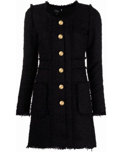 Шерстяное платье макси - черное Giambattista Valli