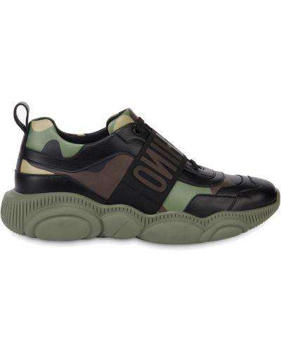 Sneakersy - zielone Moschino
