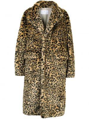 Коричневое пальто длинное Toga Pulla