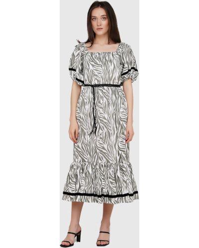 Кожаное платье с поясом Anna Yakovenko