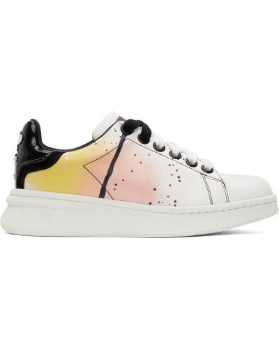 Белые кружевные кроссовки Marc Jacobs